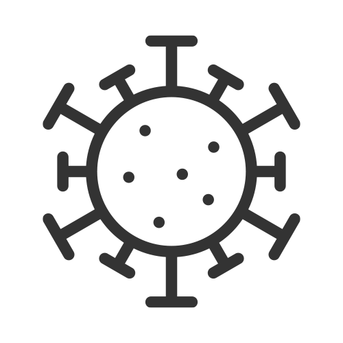 antibacterial coating spray icon