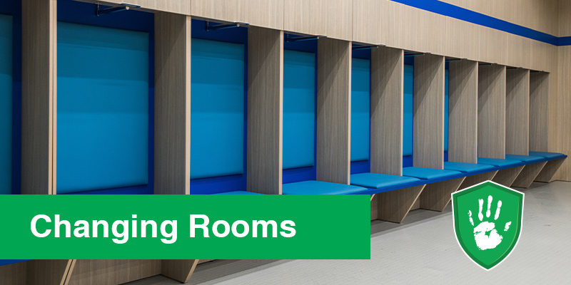 antimicrobial coating solutions for shared changing rooms and lockers