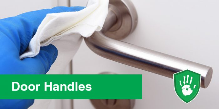NanoGuardX Antimicrobial Coating for door handles