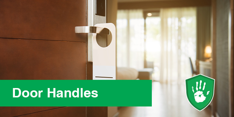 NanoGuardX antimicrobial coating spray for hotel door handles
