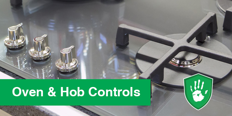 antimicrobial clear coating for over controls