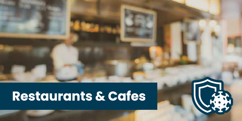 Antimicrobial Spray Coating for restaurants and cafes with 90 Day Protection from viruses and bacteria
