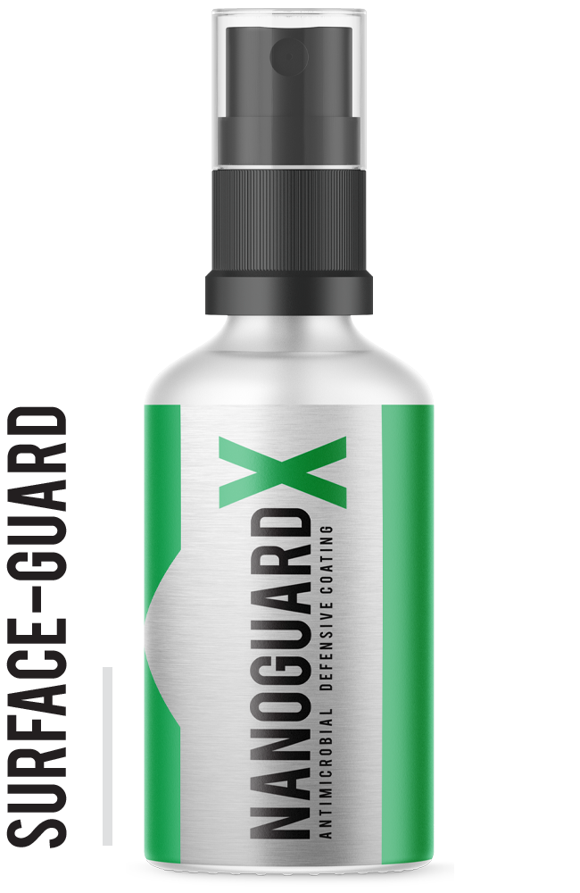 NanoGuardX Antimicrobial Surface Coating - Surface Guard