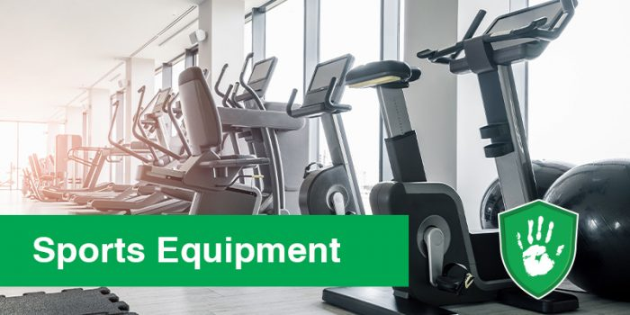 antimicrobial coating for sports equipment in gyms and at home